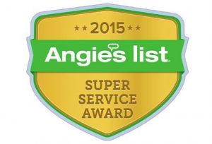 2015 Angies List Super Service Award Air and Home Services Icon
