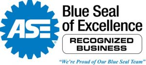 Automotive Blue Seal of Excellence Icon
